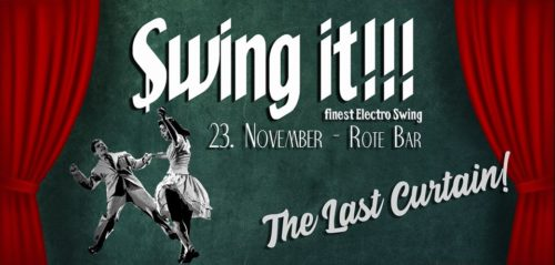 [dunkelbunt] @ Swing it!!! The last Curtain, Rote Bar, Volkstheater, Sat., November 23, 2019, Vienna