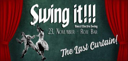 [dunkelbunt] @ Swing it!!! The last Curtain, Rote Bar, Volkstheater, Sat., November 23, 2019, Vienna