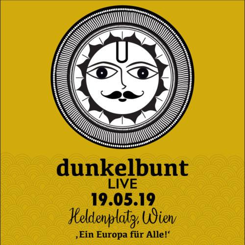 """[dunkelbunt] Live @ Demo und Fest """"Ein Europa für Alle!"""" - Bild © [dunkelbunt]"""
