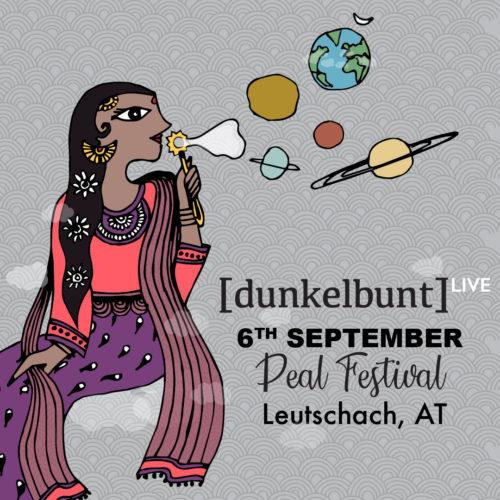 [dunkelbunt] + Band LIVE, Freitag, 06.09.2019 @ Pealfestival, Leutschach (AT)