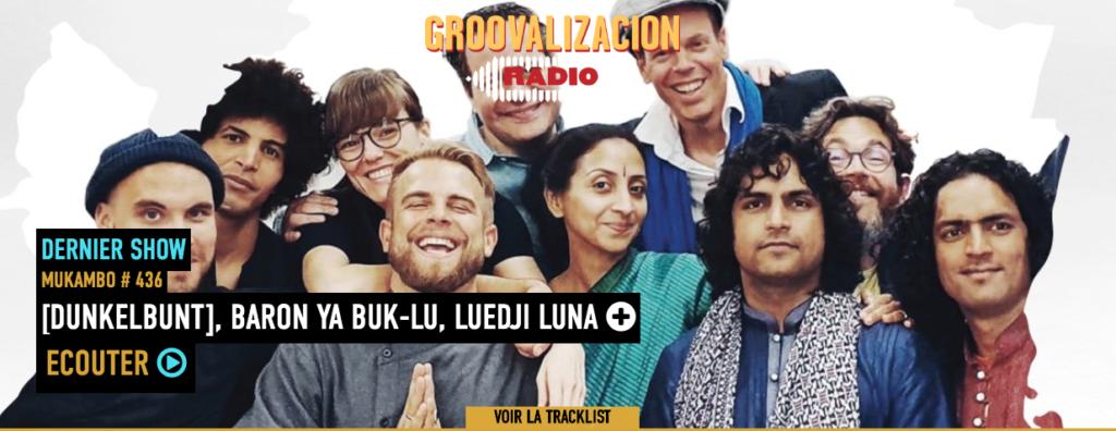 [dunkelbunt] Vienna Tapes @ Groovalizacion Radio, Benjaflor Mukambo