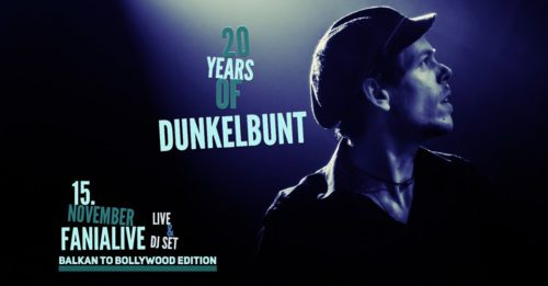 20 Years of [dunkelbunt] - Balkan to Bollywood Edition