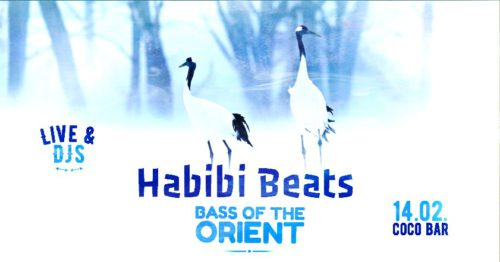 Habibi Beats | Bass of the Orient DJ & Live Music Party Friday, 14.02.2020 Coco Bar U-Bahnbögen 34-35, 1080 Vienna Doors / Beginn: 9 pm / 21 Uhr Admission: € 10.-