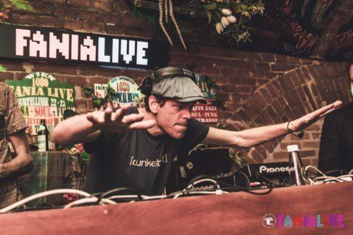 Ulf Lindemann aka DJ [dunkelbunt] @ Fanialive, Foto © Cobas Photography
