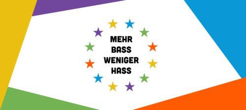 [dunkelbunt] live @ MEHR BASS WENIGER HASS - Rave für Europa - Sunday May 19th 2019, Heldenplatz, Vienna