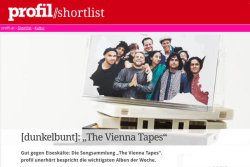 """The Vienna Tapes - limited edition"", Review by Philip Dulle, profil, 17.01.2020, Vienna"